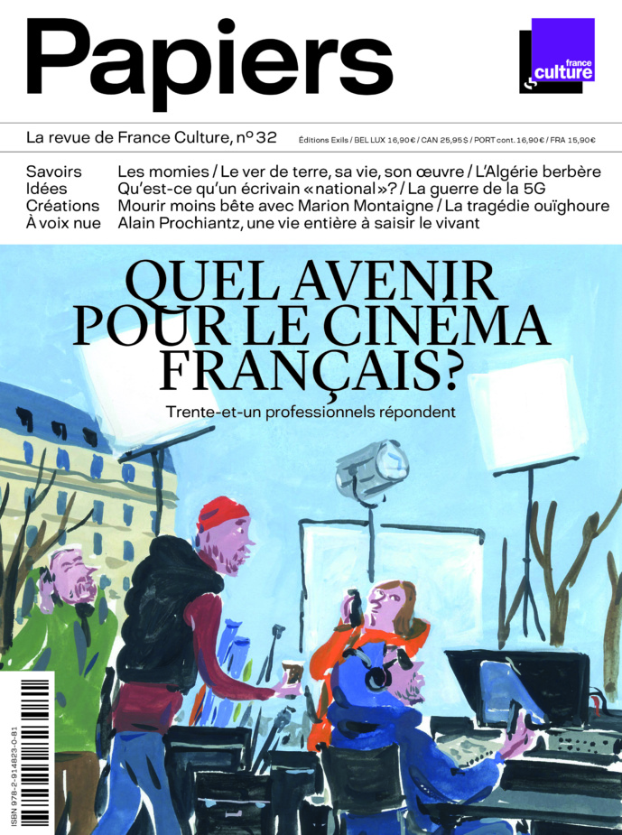 """Parution de """"Papiers"""", la revue de France Culture"""