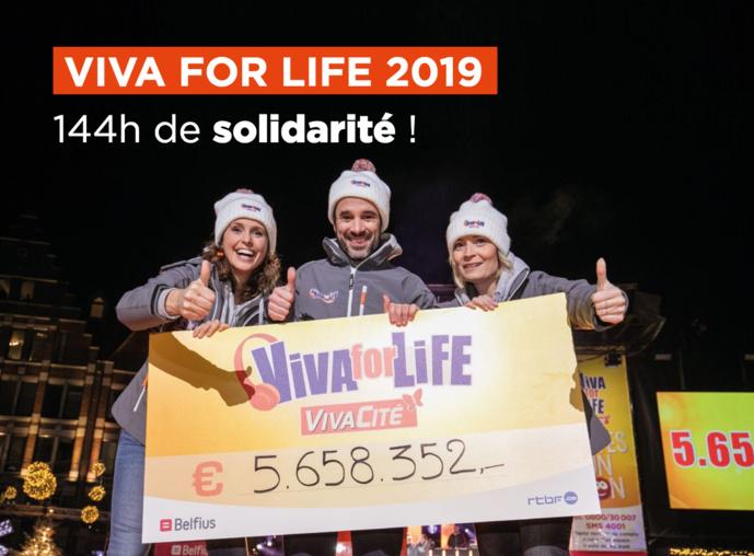 """VivaCité : 136 projets financés grâce à """"Viva for Life"""""""