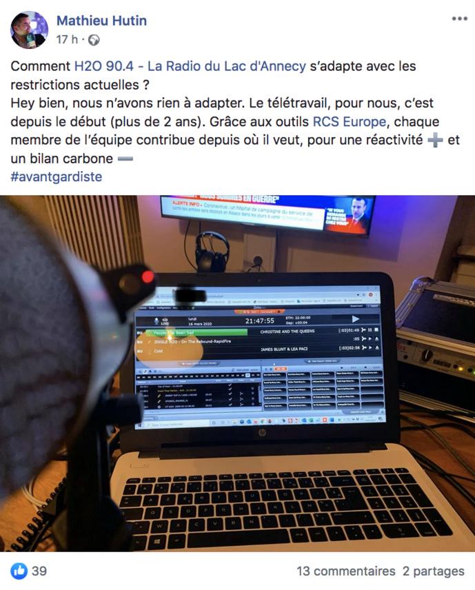 Covid-19 - Quand les animateurs et journalistes font de la radio ... à la maison
