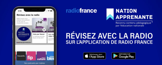 "Covid-19 : Radio France s'associe à l'opération ""Nation apprenante"""