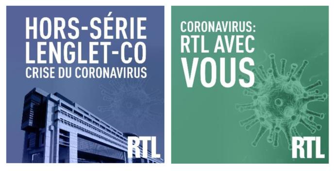 Covid-19 : RTL lance de nouveaux podcasts