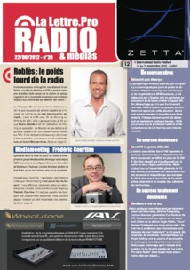 La Lettre Pro de la Radio : téléchargez maintenant le n° 20 !