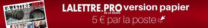Diagramme exclusif LLP/RCS GSelector 4 - TOP 5 radios Musicales en Lundi-Vendredi - 126 000 janvier-mars 2020