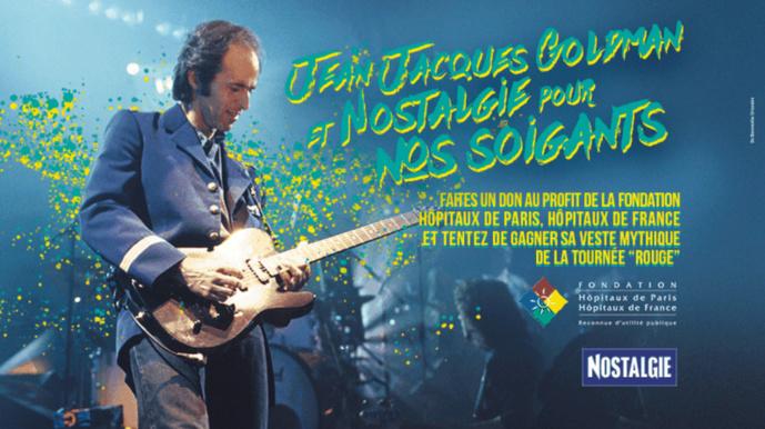 Covid-19 : Nostalgie offre une tenue de Jean-Jacques Goldman