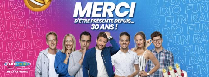 Aujourd'hui, Fun Radio Belgique a 30 ans
