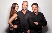 Sandra Lou, Bruno Roblès et Pascal Gigot