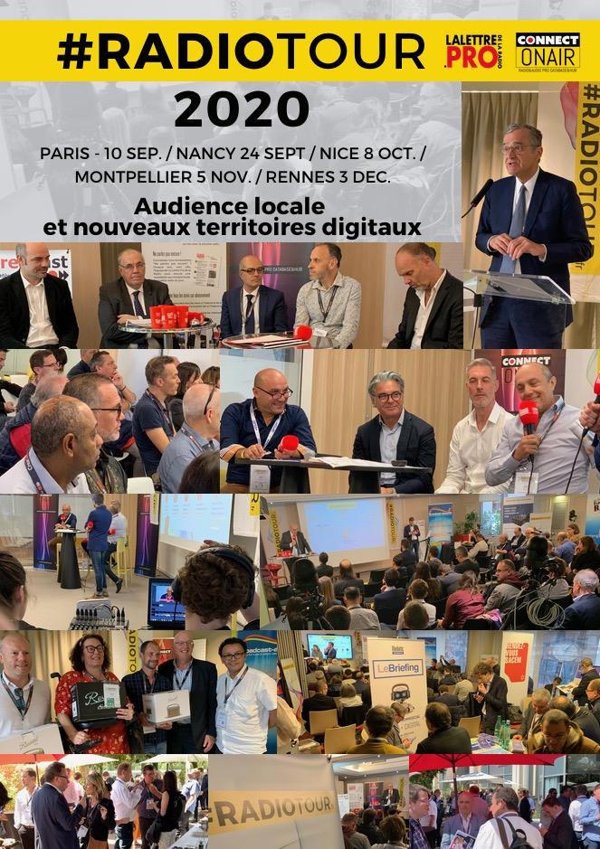 D'ici la fin de l'année, le RadioTour desservira les villes de Nancy, Nice, Montpellier et Rennes