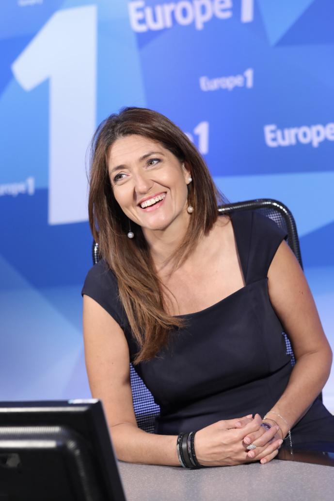 Raphaëlle Duchemin anime La France bouge, de 12h à 14h, sur Europe 1. © Marie Etchegoyen, Capa Pictures /Europe 1