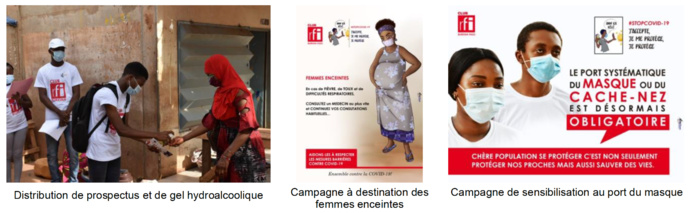 Covid-19 : les clubs RFI du Burkina Faso lancent une opération de sensibilisation