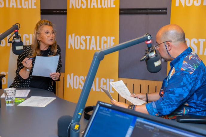 La chanteuse Sheila arrive sur Nostalgie Belgique