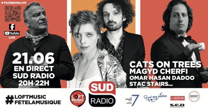 Sud Radio célèbre la musique en direct de Toulouse