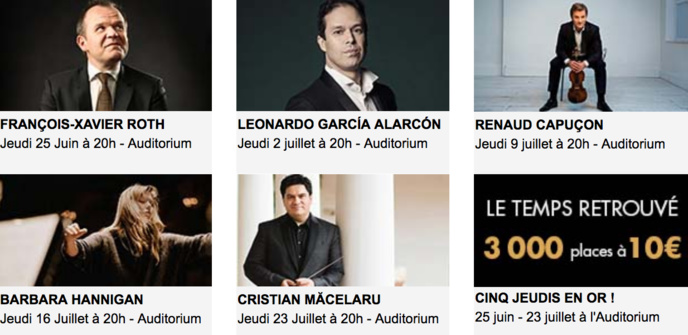 Radio France : réouverture de l'Auditorium, ce 25 juin