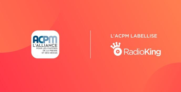 RadioKing obtient la labellisation ACPM