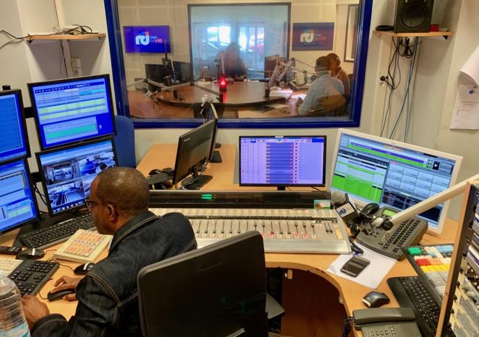 Les radios de l'outre-mer mobilisées comme elles savent le faire. © D.R.