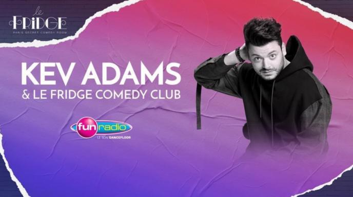 Kev Adams s'installe sur Fun Radio