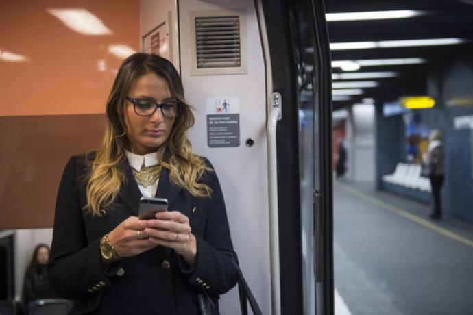 L'ensemble du réseau RATP équipé en très haut débit mobile par les opérateurs de téléphonie mobile © RATP