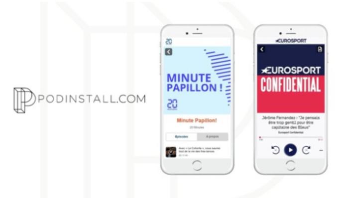 PodInstall aide 20 Minutes et Eurosport à augmenter les audiences de leurs podcasts