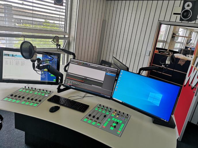 Lawo : la console Ruby équipe un studio de la radio suisse Canal 3