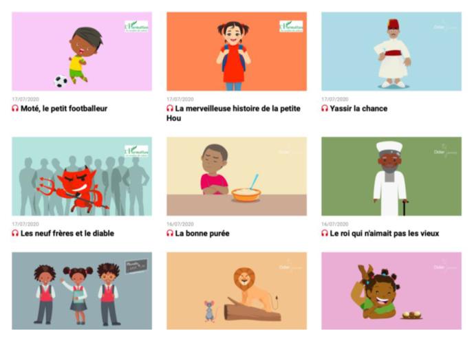 """Podcast : RFI propose """"Des contes à écouter"""" pour les enfants"""
