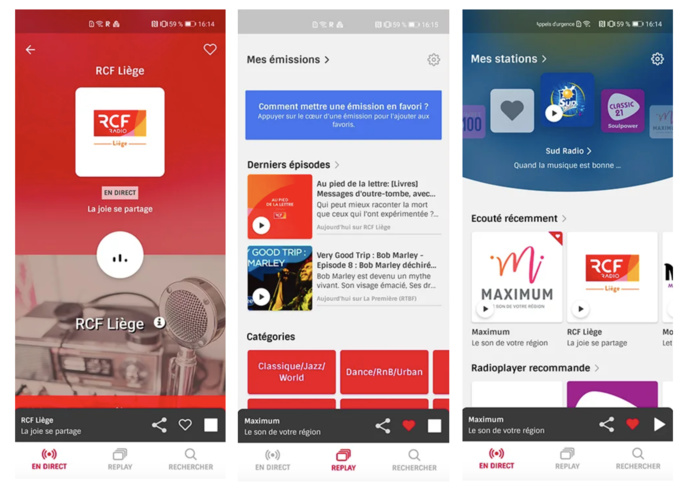 Radioplayer disponible sur l'AppGallery de Huawei
