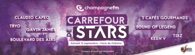 """Annulation du """"Carrefour de Stars"""" de Champagne FM"""