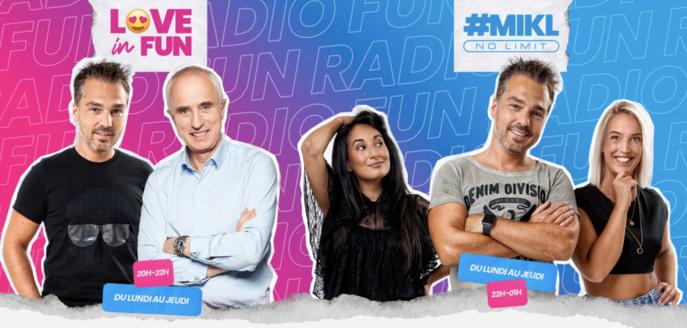 MIKL de retour sur Fun Radio Belgique