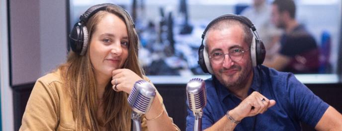 Pauline et Ben, nouveaux animateurs dans les studios de Cristal