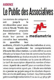 Le Public des Associatives