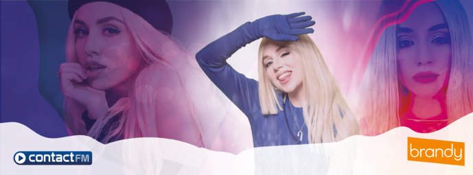 """Habillage : Brandy produit """"GrandMix"""" pour Contact FM"""