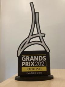 Le nouveau trophée des Grands Prix Radio bien évidemment reconduits en 2021
