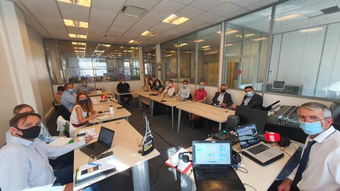 Une quinzaine de professionnels ont participé, en présentiel, au Comité éditorial. Une dizaine de plus en distanciel © Nicolas Moulard / Editions HF
