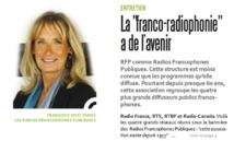 Françoise Dost met en avant la francophonie à la radio