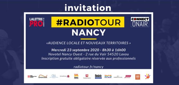 RadioTour à Nancy : voici le programme