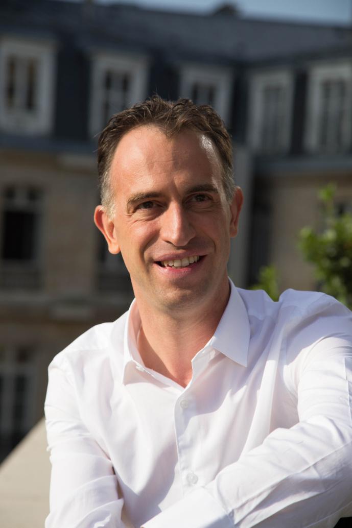 Tristan Jurgensen, directeur général des radios musicales RTL2 et Fun Radio. © Groupe M6.