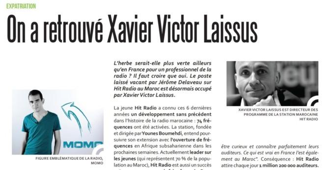 On a retrouvé Xavier Victor Laissus