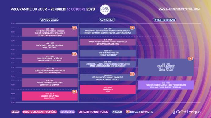 Le Paris Podcast Festival dévoile sa programmation