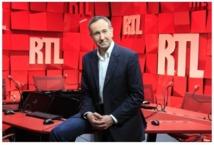 Chaque matin, Laurent Bazin est écouté par 4 088 000 auditeurs © Abacapress/RTLs