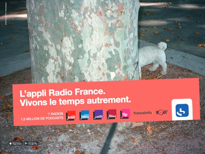 Radio France lance une campagne de publicité pour son application