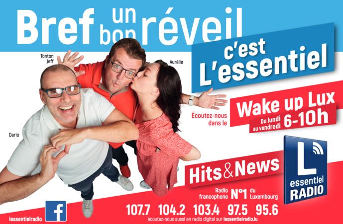 21 juin signe l'habillage de la matinale de L'Essentiel Radio