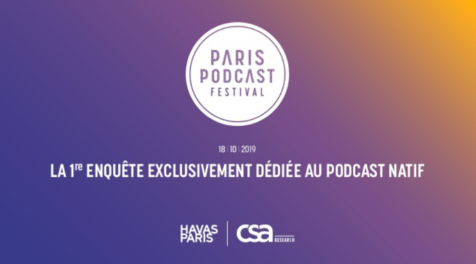 Podcast natif : étude exclusive CSA et Havas sur l'audience