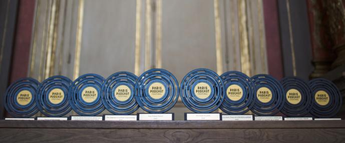 Les trophées du Paris Podcast Festival © PPF