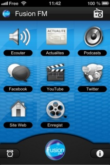 Fusion FM désormais sur GooglePlay et sur l'AppStore