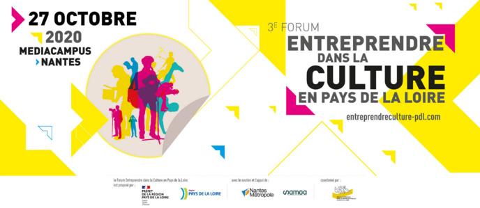 La FRAP partenaire du Forum entreprendre dans la culture en Pays de la Loire