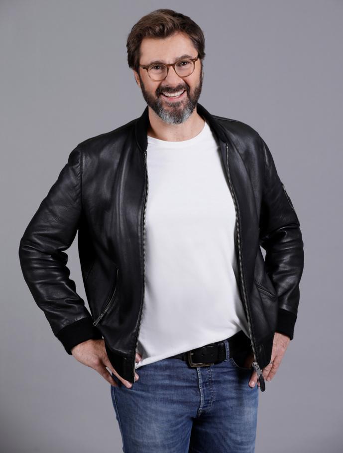 À 53 ans, Éric Jean-Jean est sur RTL et RTL2 6 jours sur 7. © Thomas Padilla/Agence 1827/RTL.