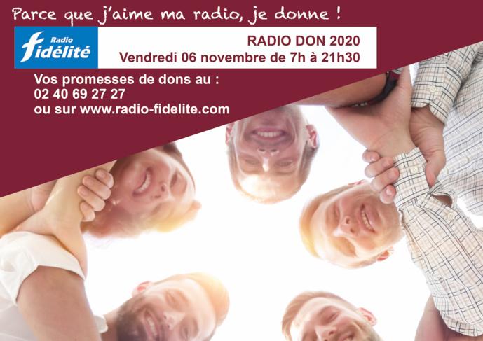 Radio Fidélité organise son 12e RadioDon