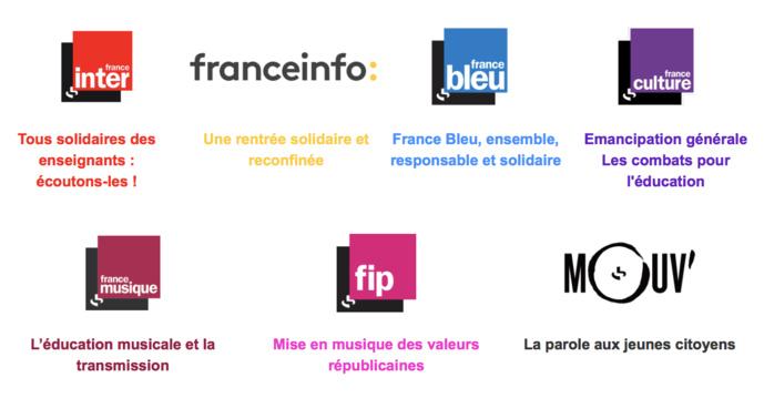 Solidarité : Radio France dévoile les dispositifs détaillés de ses 7 antennes