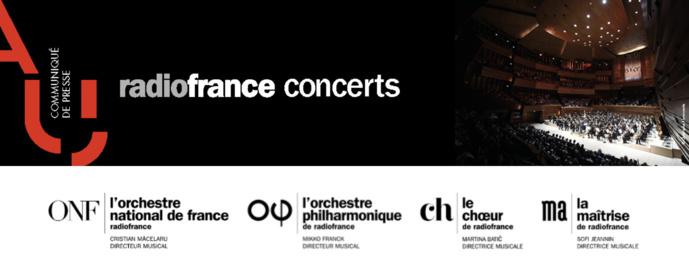 Annulation des concerts de Radio France jusqu'au 1er décembre