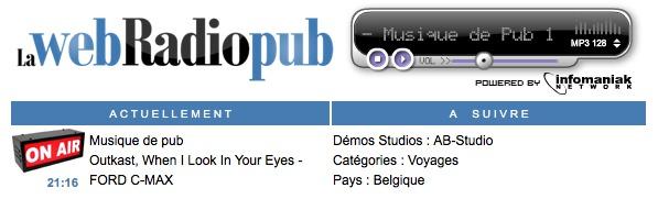 Une webradio 100% Pub