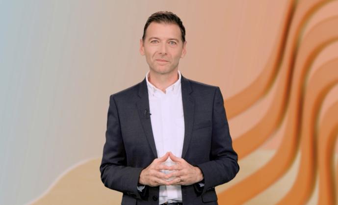 Alain Liberty, président du SIRTI ce matin, lors de l'Assemblée générale, en ligne, du Syndicat des Radios Indépendantes © SIRTI