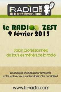 Inscription au RADIO Zest, cliquez ici